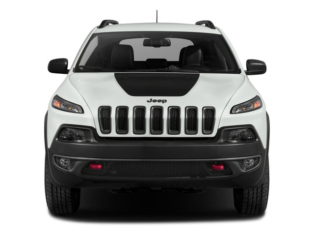2018 Jeep Cherokee Prices and Values Utility 4D Trailhawk 4WD front view