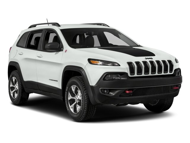 2018 Jeep Cherokee Prices and Values Utility 4D Trailhawk 4WD side front view