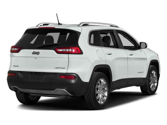2018 Jeep Cherokee Prices and Values Utility 4D Limited 4WD side rear view