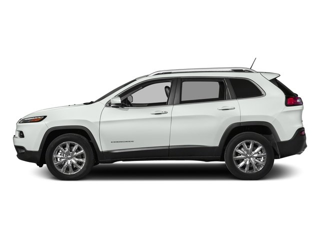 2018 Jeep Cherokee Prices and Values Utility 4D Limited 4WD side view