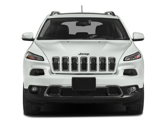 2018 Jeep Cherokee Prices and Values Utility 4D Limited 4WD front view