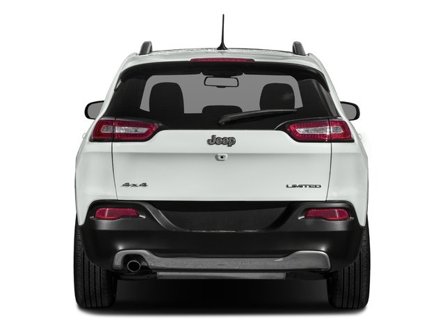 2018 Jeep Cherokee Base Price Limited FWD Pricing rear view