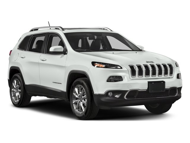 2018 Jeep Cherokee Prices and Values Utility 4D Limited 4WD side front view