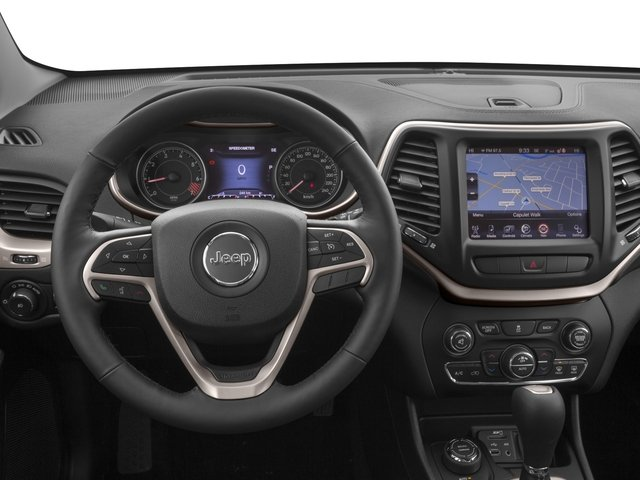2018 Jeep Cherokee Prices and Values Utility 4D Limited 4WD driver's dashboard