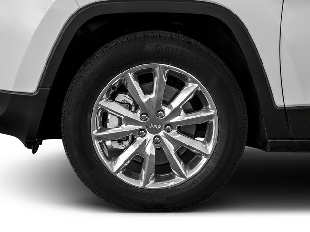 2018 Jeep Cherokee Prices and Values Utility 4D Limited 4WD wheel