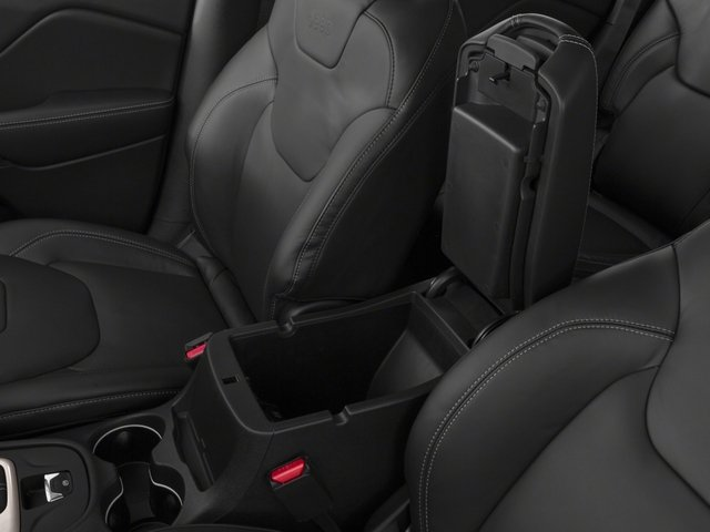 2018 Jeep Cherokee Base Price Limited FWD Pricing center storage console