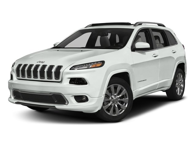2018 Jeep Cherokee Pictures Cherokee Overland FWD photos side front view