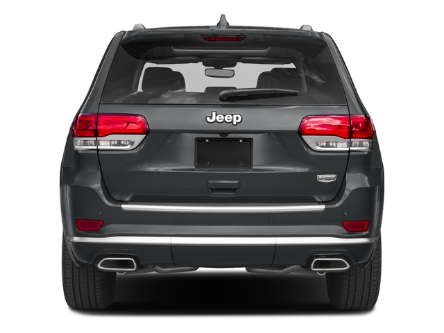 2018 Jeep Grand Cherokee Pictures Grand Cherokee Summit 4x2 photos rear view