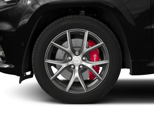 2018 Jeep Grand Cherokee Pictures Grand Cherokee Utility 4D SRT-8 4WD photos wheel