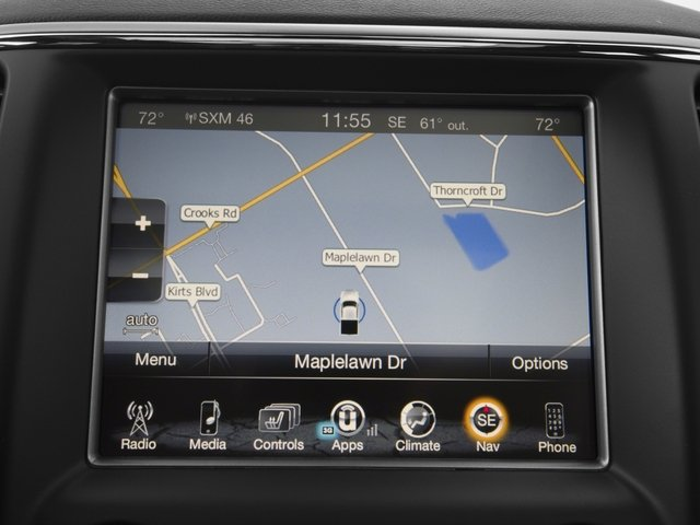 2018 Jeep Grand Cherokee Pictures Grand Cherokee Utility 4D SRT-8 4WD photos navigation system