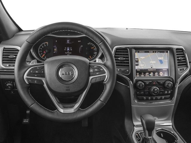 2018 Jeep Grand Cherokee Base Price Sterling Edition 4x2 *Ltd Avail* Pricing driver's dashboard