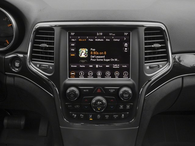 2018 Jeep Grand Cherokee Base Price Trailhawk 4x4 *Ltd Avail* Pricing stereo system