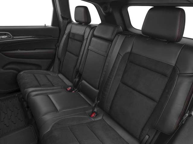 2018 Jeep Grand Cherokee Base Price Trailhawk 4x4 *Ltd Avail* Pricing backseat interior