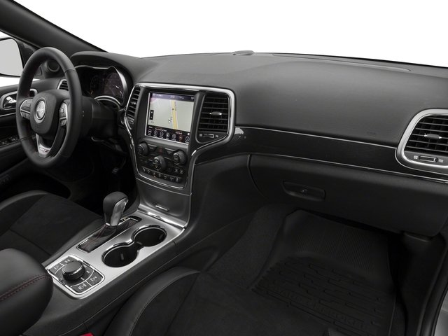 2018 Jeep Grand Cherokee Base Price Trailhawk 4x4 *Ltd Avail* Pricing passenger's dashboard