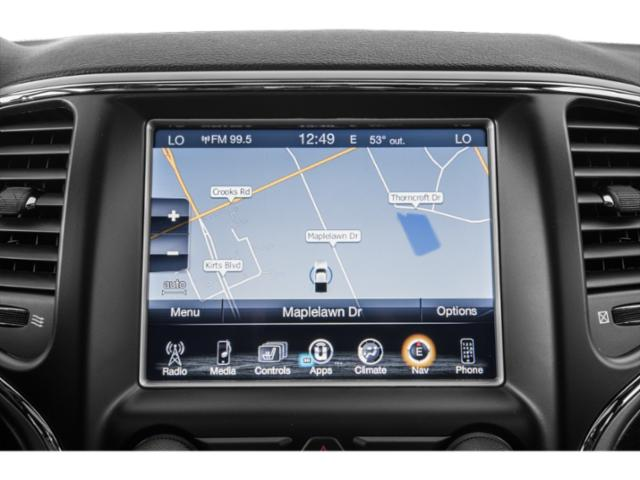 2018 Jeep Grand Cherokee Pictures Grand Cherokee Utility 4D Overland 2WD T-Dsl photos navigation system