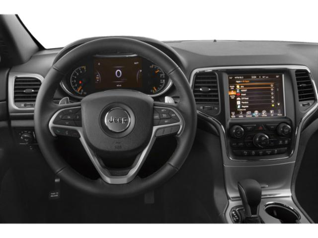 2018 Jeep Grand Cherokee Prices and Values Utility 4D High Altitude 2WD T-Dsl driver's dashboard