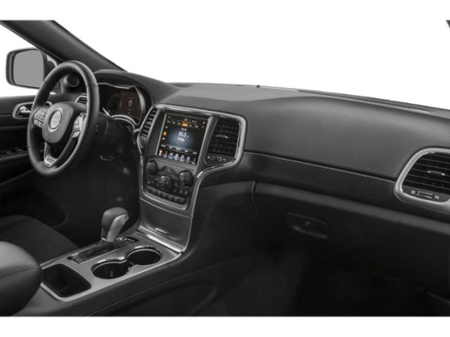 2018 Jeep Grand Cherokee Prices and Values Utility 4D High Altitude 2WD T-Dsl passenger's dashboard
