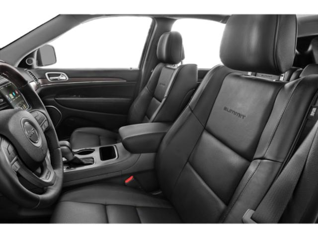 2018 Jeep Grand Cherokee Prices and Values Utility 4D Summit 2WD T-Dsl front seat interior