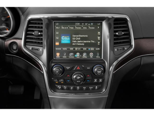 2018 Jeep Grand Cherokee Prices and Values Utility 4D High Altitude 2WD T-Dsl stereo system