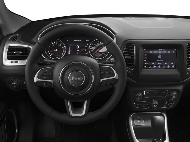 2018 Jeep Compass Base Price Latitude FWD Pricing driver's dashboard