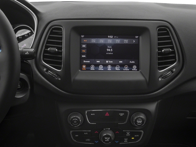 2018 Jeep Compass Base Price Latitude FWD Pricing stereo system