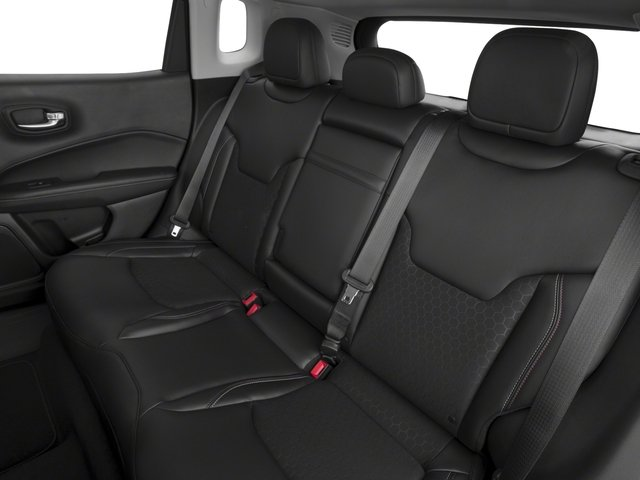 2018 Jeep Compass Base Price Latitude FWD Pricing backseat interior