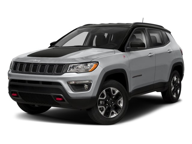 2018 Jeep Compass Pictures Compass Trailhawk 4x4 photos side front view