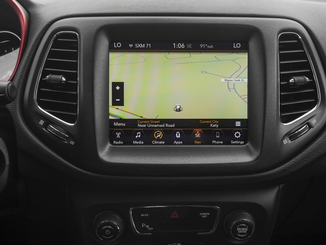 2018 Jeep Compass Base Price Trailhawk 4x4 Pricing navigation system