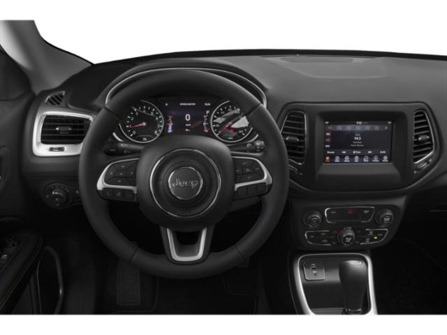 2018 Jeep Compass Prices and Values Utility 4D Latitude 4WD driver's dashboard