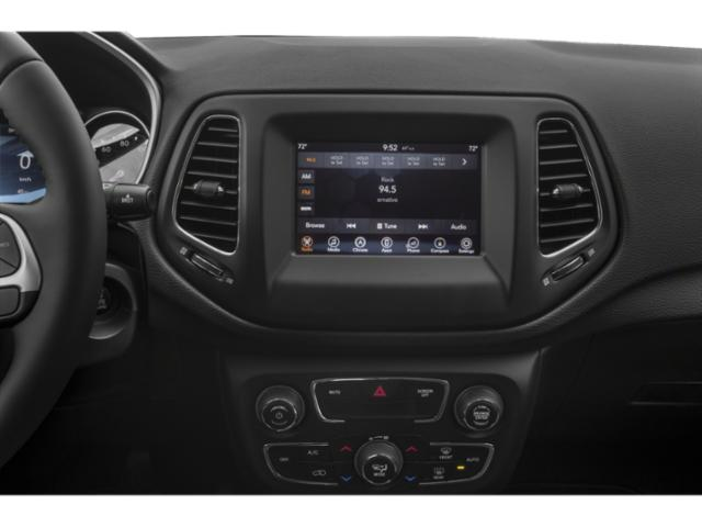 2018 Jeep Compass Base Price Latitude 4x4 Pricing stereo system
