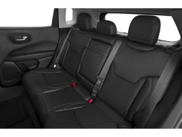 2018 Jeep Compass Base Price Latitude 4x4 Pricing backseat interior