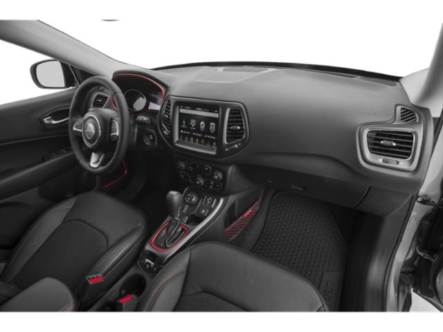 2018 Jeep Compass Base Price Latitude 4x4 Pricing passenger's dashboard