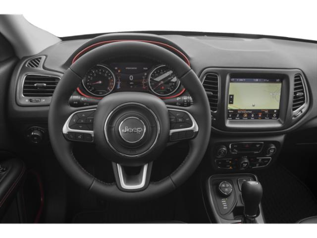 2018 Jeep Compass Prices and Values Utility 4D Sport 4WD driver's dashboard