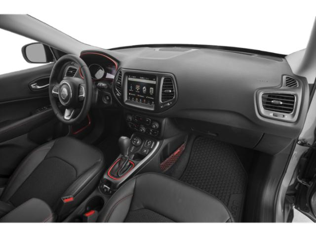 2018 Jeep Compass Prices and Values Utility 4D Latitude 4WD passenger's dashboard