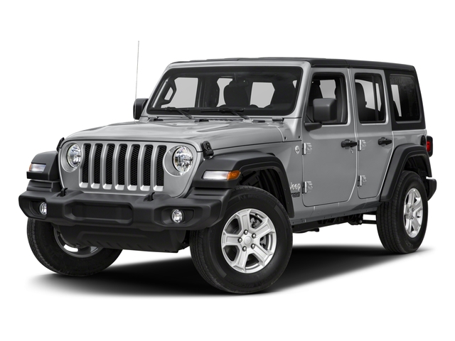 2018 Jeep Wrangler Unlimited Base Price Sport S 4x4 Pricing side front view