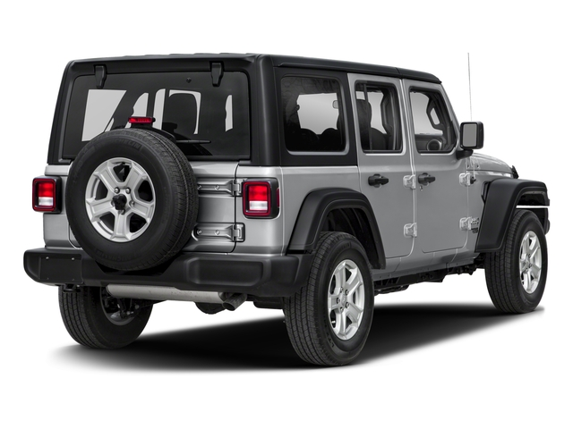 2018 Jeep Wrangler Unlimited Base Price Sport S 4x4 Pricing side rear view