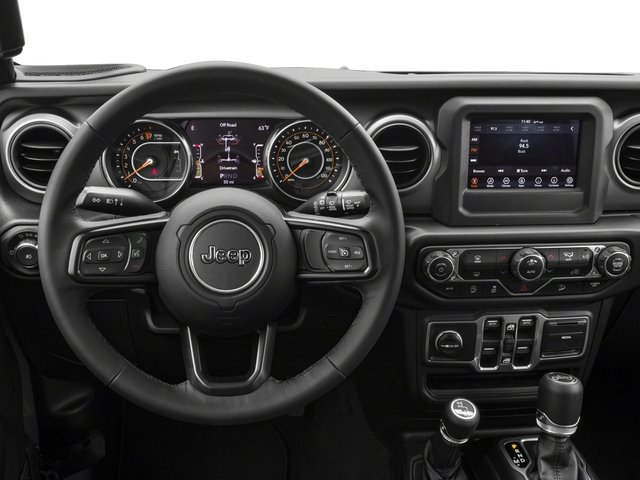 2018 Jeep Wrangler Unlimited Base Price Sport S 4x4 Pricing driver's dashboard