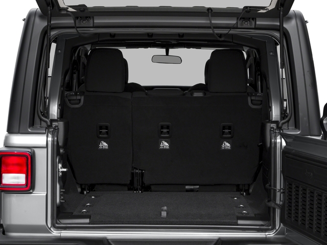 2018 Jeep Wrangler Unlimited Base Price Sport S 4x4 Pricing open trunk