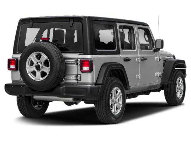 2018 Jeep Wrangler Unlimited Prices and Values Utility 4D Sahara 4WD V6 side rear view