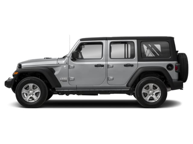 2018 Jeep Wrangler Unlimited Prices and Values Utility 4D Sahara 4WD V6 side view