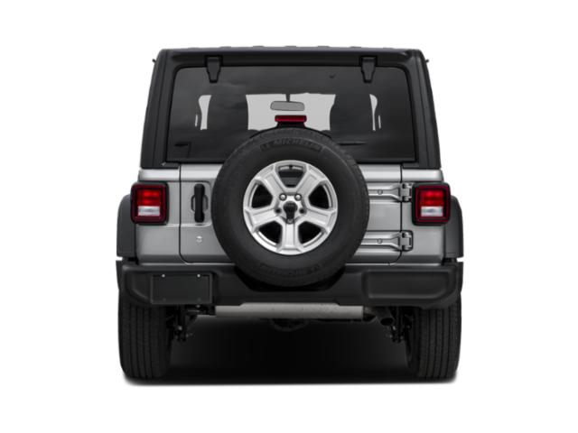 2018 Jeep Wrangler Unlimited Prices and Values Utility 4D Sahara 4WD V6 rear view