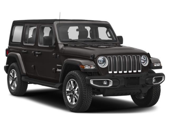 2018 Jeep Wrangler Unlimited Prices and Values Utility 4D Sahara 4WD V6 side front view