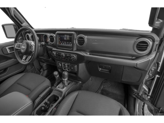 2018 Jeep Wrangler Unlimited Prices and Values Utility 4D Sahara 4WD V6 passenger's dashboard