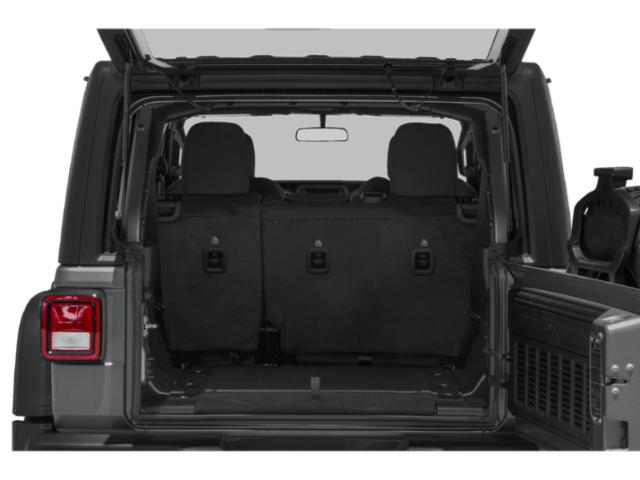 2018 Jeep Wrangler Unlimited Prices and Values Utility 4D Sahara 4WD V6 open trunk