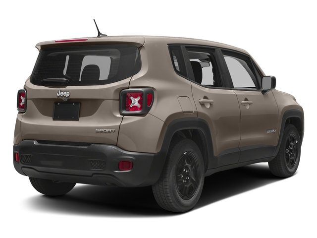 2018 Jeep Renegade Base Price Sport 4x4 Pricing side rear view