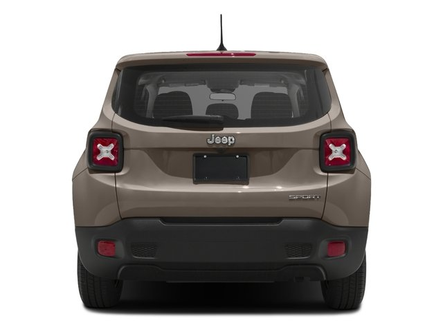 2018 Jeep Renegade Base Price Sport 4x4 Pricing rear view
