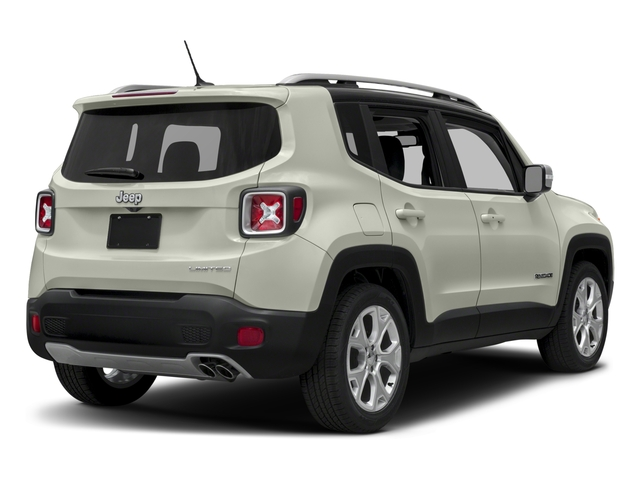 2018 Jeep Renegade Pictures Renegade Limited FWD photos side rear view