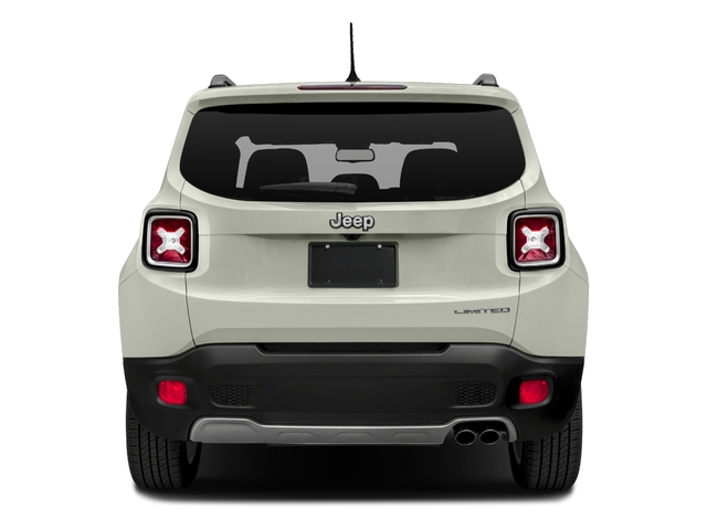 2018 Jeep Renegade Pictures Renegade Limited FWD photos rear view
