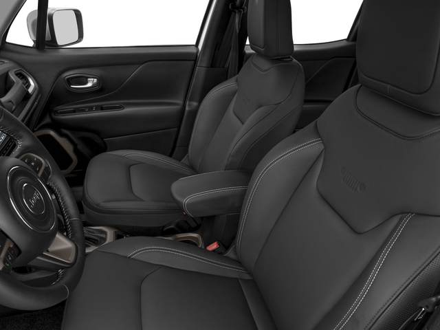 2018 Jeep Renegade Pictures Renegade Limited FWD photos front seat interior