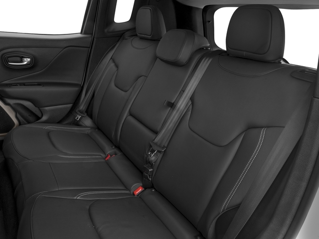 2018 Jeep Renegade Pictures Renegade Limited FWD photos backseat interior